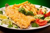 Рыбное блюдо — Стоковое фото