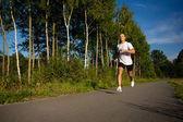 Homem running — Fotografia Stock