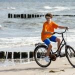 Teenage boy riding bike — Stock Photo #46270925