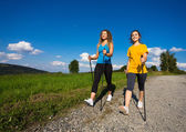 Active people outdoor — Stock Photo