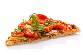 One portion of Pizza — Stock Photo