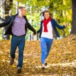 Young couple running — Stock Photo #50532159