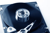 Opened hard disk drive — Stock Photo