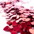 Stock Photo: Hearts confetti
