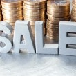 Stock Photo: Sale concept