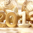 Stock Photo: New 2013 year