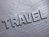 Word travel — Stock Photo