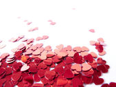Hearts confetti — Stock Photo