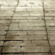 Texture of gray tiled pavement city ground — Stock Photo