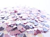 Harten confetti — Stockfoto