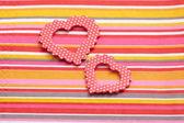 Herzen zum Valentinstag — Stockfoto