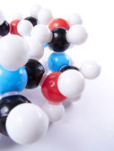 Molecular model — Stock Photo