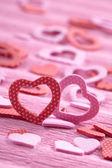 Corações para dia dos namorados — Fotografia Stock