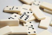 Domino pieces — Stock Photo