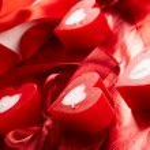 Romantic candles — Stock Photo #9642065