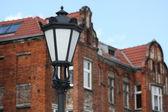 Classic street lamp — Stock Photo
