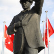 Ataturk monument - Stock Photo