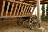 Wood cart — Stock Photo