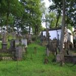 Old Rasu cemetery in Vilnius — Stock Photo