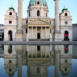 Baroque Karlskirche Church in Vienna, Austria — Stock Photo