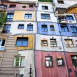 Hundertwasser House in Vienna, Austria - Stock Photo