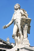 Statue of Wolfgang Amadeus Mozart in Vienna — Stock Photo