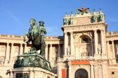 Prince Eugen of Savoy, Hofburg in Vienna, Austria — Stock Photo
