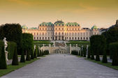 Baroque castle Belvedere in Vienna, Austria — Stock Photo