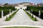 The Lower Belvedere, Vienna, Austria — Stock Photo