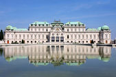 Baroque castle Belvedere, Vienna, Austria — Stock Photo