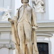 Statue of musician Franz Joseph Haydn in Vienna, Austria — Stock Photo