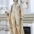 Statue of musician Franz Joseph Haydn in Vienna, Austria — Stock Photo #12597512