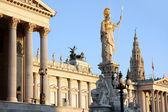ウィーン、オーストリアのオーストリアの議会 — ストック写真