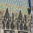 Stephansdom in Vienna, Austria - Stock Photo