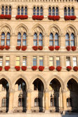 Famous City Hall building, Rathaus in Vienna, Austria — Stok fotoğraf