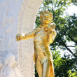Royalty-Free Stock Photo: The statue of Johann Strauss in Vienna, Austria