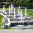 Fountain in park of Baroque castle Belvedere in Vienna, Austria — Stock Photo