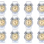 Group of alarm clock — Stock Photo #2741782