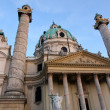 Karlskirche Church in Vienna, Austria — Stock Photo #27705717