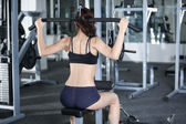 Exercises to strengthen the muscles of the back — Stock Photo