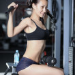 Exercises to strengthen the muscles of the back — 图库照片