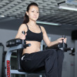 Stock Photo: In gym