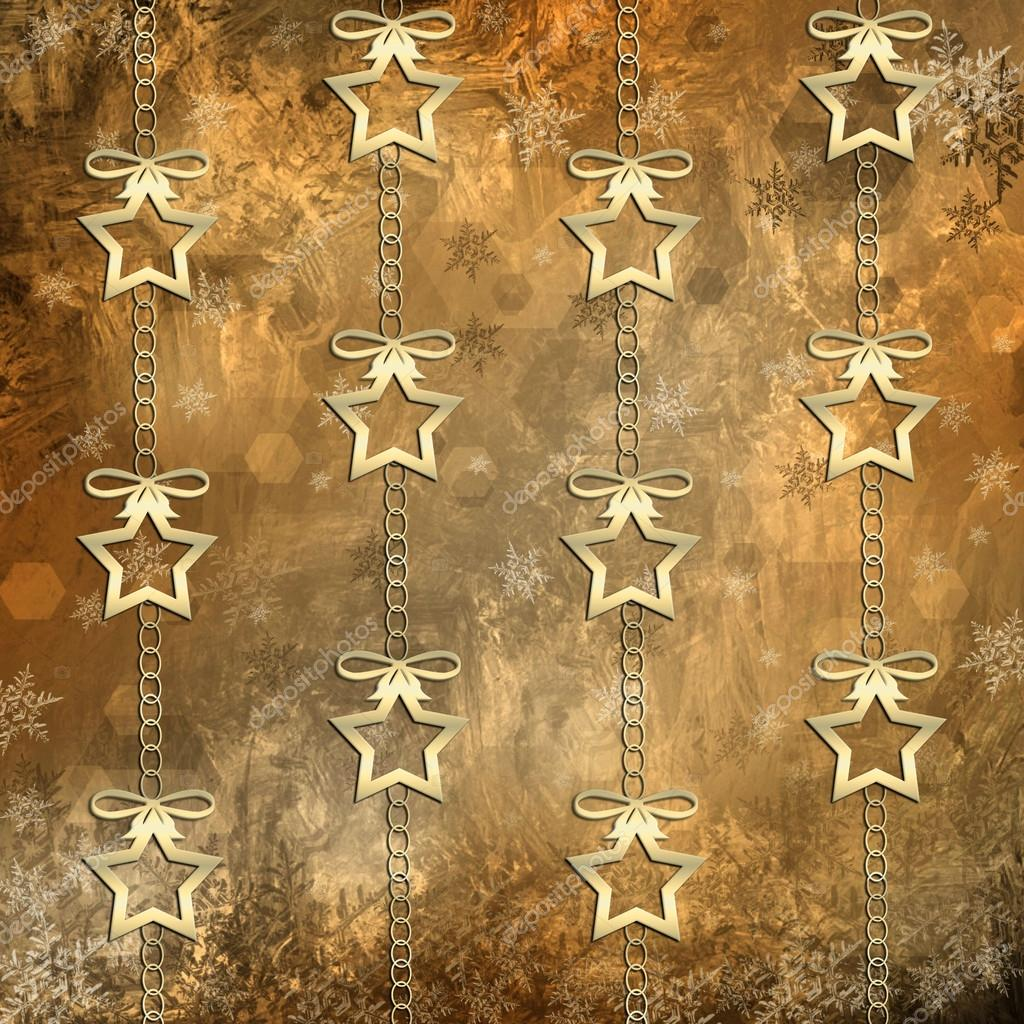 Christmas background with shining stars  — Stock Photo #14020292