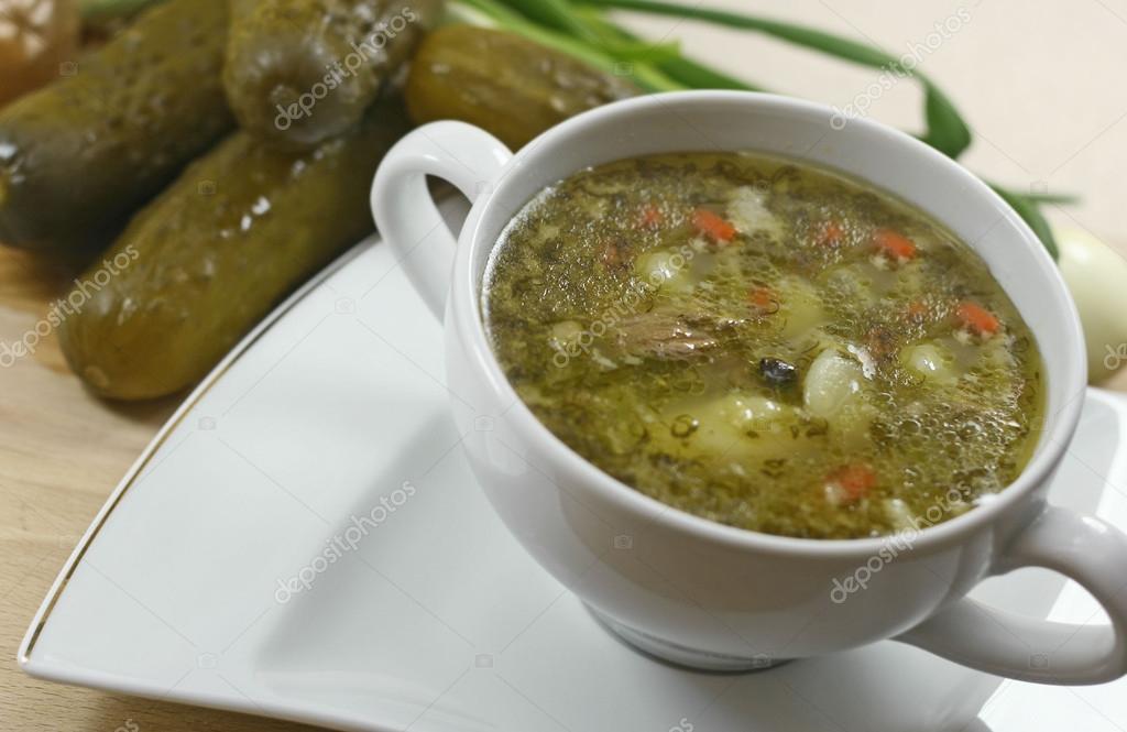 Суп из перловки постный рецепт