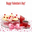 Royalty-Free Stock Photo: Valentine cupcake