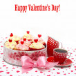 Valentine cupcake — Stock Photo #15731637