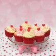 Valentine cupcake — Stock Photo #16227345