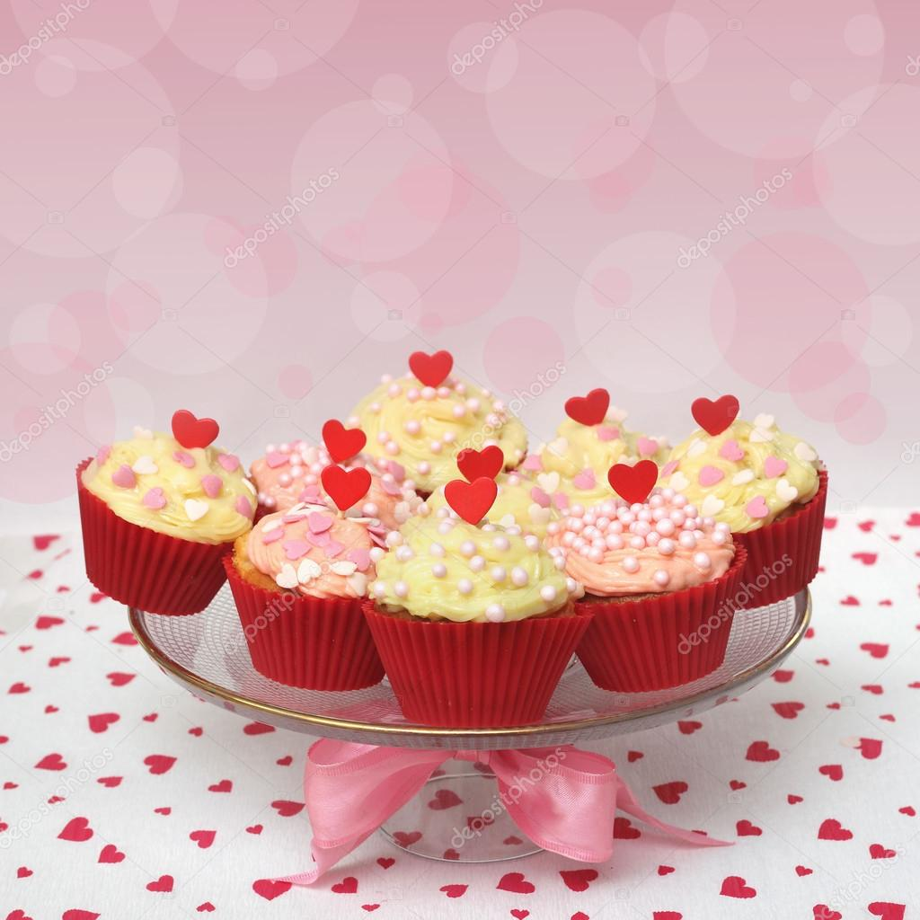 Valentine cupcake   Stockfoto #16227345