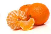 Orange mandarin — Stock Photo
