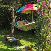 View of hammock — Stock Photo